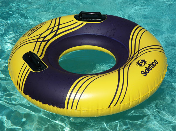 River Rough Inflatable River Tube 42""