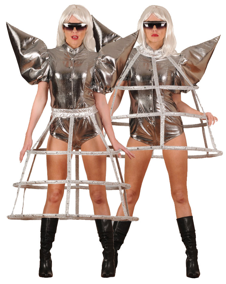 Spacey Pop Singer Costume