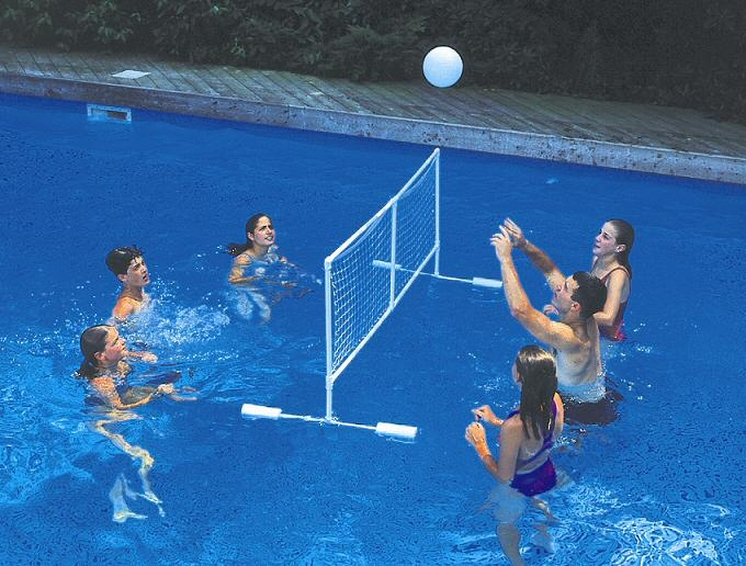 Floating Super Volleyball Game Set