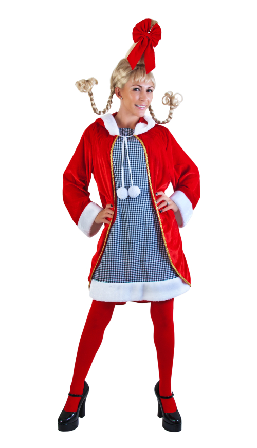 Adult cindy christmas costume grinch costumes