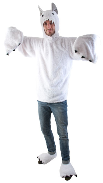Adult Great White Yeti Costume  sc 1 st  Brands On Sale & Adult Great White Yeti Costume | Best Menu0027s Costumes 2015 ...