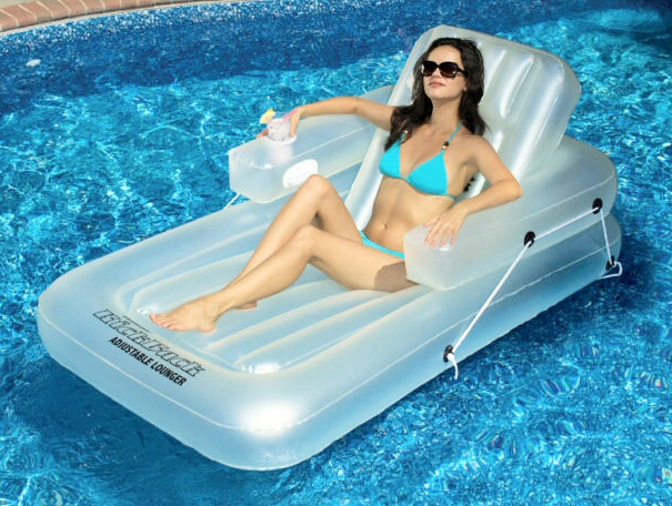 Swimline Kickback Adjustable Pool Lounge