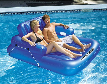 Double Adjustable Pool Lounge