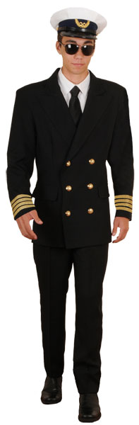 Pan Am Pilot Costume