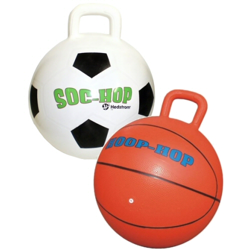 Hippity Hop Basketball and Soccer Hop Balls