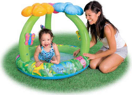 Jungle Flower Baby Pool