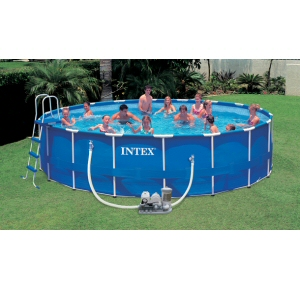 intex frame set 18 x 48 pool liner only
