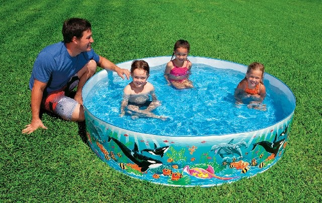 Color Reef Plastic Kiddie Pool