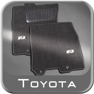 2007 2010 toyota fj cruiser carpeted floor mats charcoal w. Black Bedroom Furniture Sets. Home Design Ideas