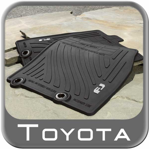 2011 2014 toyota fj cruiser rubber floor mats all weather. Black Bedroom Furniture Sets. Home Design Ideas