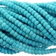 Turquoise Light Blue 6x4mm Rondelle Beads 16 inch Strand