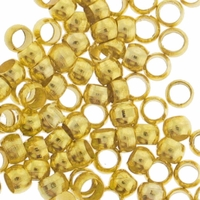Gold Plated 2.5mm Crimp Beads (100PK)