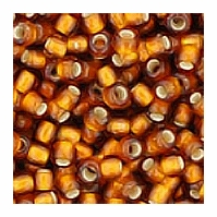 Smokey Topaz Silver Lined Seed Bead size 11/0