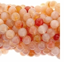10mm Natural Agate Beads 16 Inch Strand