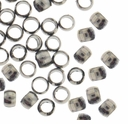 Gun Metal Plated 2.5 x 2mm Crimp Beads (100PK)