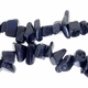 Blue Goldstone Medium-Large Chip Beads (15 Inch Strand)