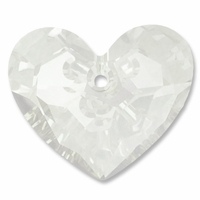 28mm Crystal Swarovski Truly in Love Heart