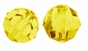Majestic Crystal® Jonquil 4mm Faceted Round Crystal Beads (50PK)
