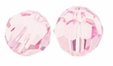 Majestic Crystal® Pink10mm Faceted Round Crystal Beads (12PK)