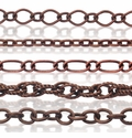 Antiqued Copper Plated Jewelry Chain