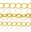 Gold Plated Metal Jewelry Chain