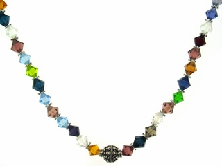 Bicone Circus Necklace