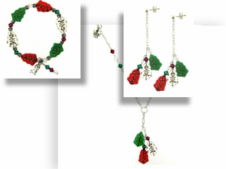 Christmas Elegance Jewelry Set