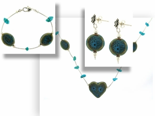 Desert Stone Jewelry Set