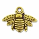 Antiqued Gold Bumble Bee 16x21mm Charm (1PC)