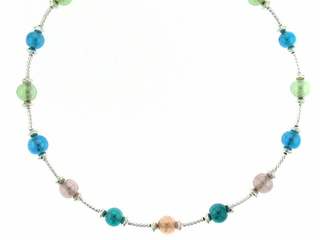 Colorful Bubbles Necklace