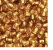 Topaz Silver Lined Seed Bead size 11/0