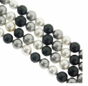 Multi Color 4mm South Sea Pearls 16-Inch Strand