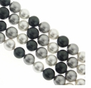 Multi Color 6mm South Sea Pearls 16-Inch Strand