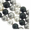 Multi Color 12mm South Sea Pearls 16-Inch Strand