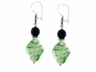 Green De-Menthe Earrings