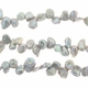 Silver Top Drilled Keishi Freshwater Pearl 5-7mm Bead Strand