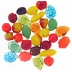 Czech Colorful Top Drilled Fruit Mix Beads (30PK)