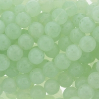 10mm Aventurine Round Glass Beads 16 inch Strand