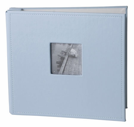 9x9 Leather Sky Blue Album