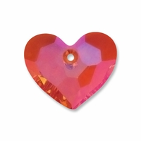 18mm Crystal Astral Pink Swarovski Truly in Love Heart