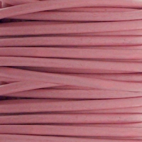 2mm Pink Cowhide Leather Cord 5 Meters