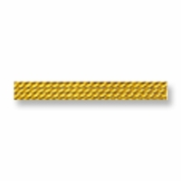 Poly Nylon Bead Cord No. 04  Amber