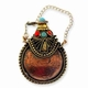 Small Copper Snuff Bottle Pendant