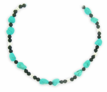 Onyx on the Rocks Necklace