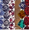 New Painted Shell Beads