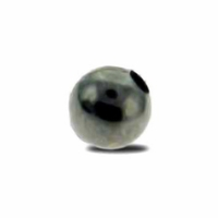 Gun Metal Plated 5mm Round Beads (50PK)