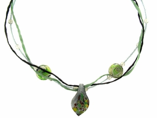 Forest Silk Necklace