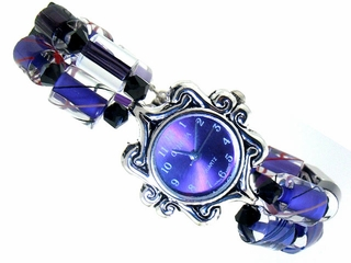 Purple Passion Decorative Watch
