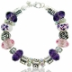 MOM Purple Floral  MIOVI Bracelet