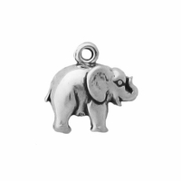 Sterling Silver Small Elephant Charm